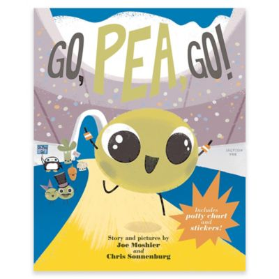 """Go, Pea, Go!"" Book by Joe Moshier and Chris Sonnenburg"