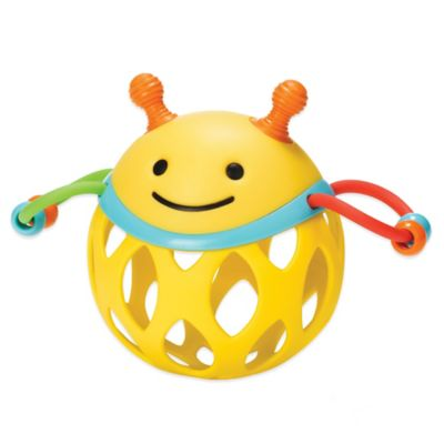 SKIP*HOP® Explore & More Roll Around Bee Rattle