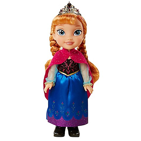 Disney 174 Quot Frozen Quot Anna Doll With Brown Hair Buybuy Baby