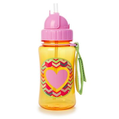 SKIP*HOP® Forget Me Not Heart Straw Bottle