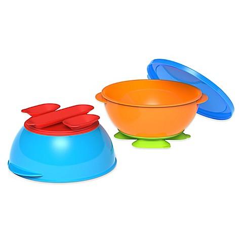 Gerber 174 Graduates 174 3 Piece Tri Suction Bowl Set Buybuy Baby