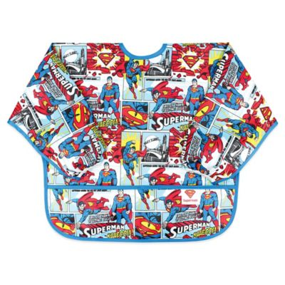 Bumkins® DC Comics Superman Sleeved Bib