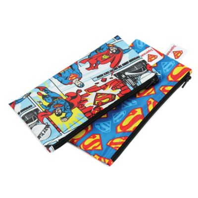 Bumkins® DC Comics 2-Pack Superman Reusable Snack Bags