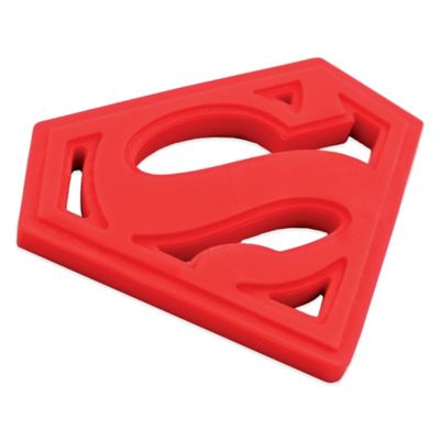 Bumkins® DC Comics Silicone Superman Teether