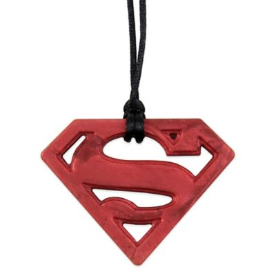 Bumkins® DC Comics Silicone Superman Teething Pendant Necklace