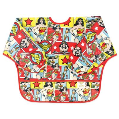 Bumkins® DC Comics Wonder Woman Sleeved Bib