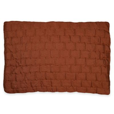 Cobble Abode Oblong Throw Pillow in Adobe