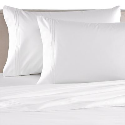 Bellino Tivoli Egyptian Cotton Queen Flat Sheet in White