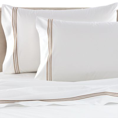Bellino Tivoli King Pillowcases in White (Set of 2)