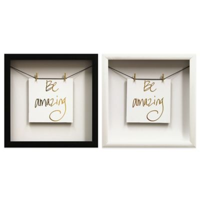 Black Wall Decor & Frames