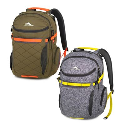 High Sierra® Broghan Laptop Backpack in Static/Mercury/Sunburst