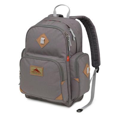 High Sierra® Warren Laptop Backpack in Charcoal/Silver
