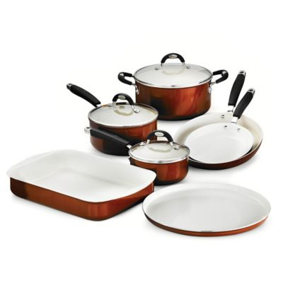 Tramontina® Style Ceramica Metallic Copper 10-Piece Cookware and Bakeware Set