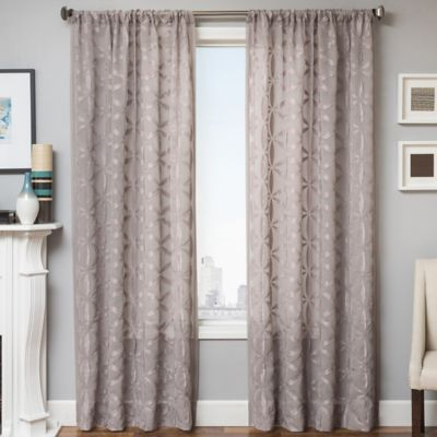 Celestia 96-Inch Window Curtain Panel in Natural