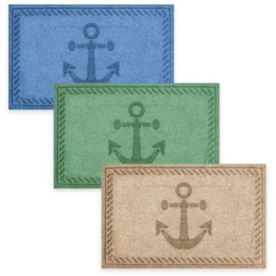 Weather Guard™ 2-Foot x 3-Foot Anchor Mat in Brown