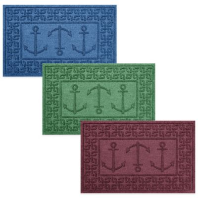 Weather Guard™ 2-Foot x 3-Foot Ahoy! Mat in Medium Blue