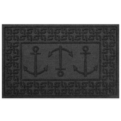 Weather Guard™ 23-Inch x 35-Inch Ahoy! Mat in Charcoal
