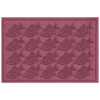 Weather Guard™ 2-Foot x 3-Foot Tropical Fish Mat in Beige
