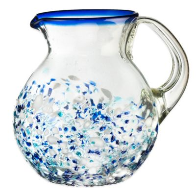 Blue Glass Pitchers
