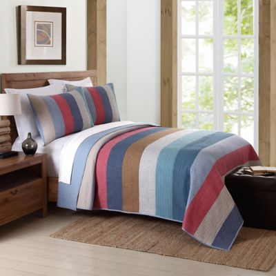 Nautica® Garrett Twin Quilt in Multi