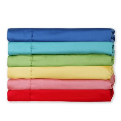 Fiesta® 300-Thread-Count Solid Twin Sheet Set in Lapis
