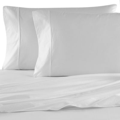Kenneth Cole Reaction Home Garment Wash Standard Pillowcases in White (Set of 2)