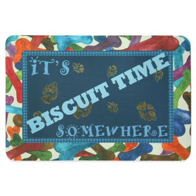 Bacova Biscuit Time Somewhere Pet Mat