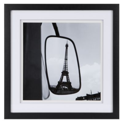Ink + Ivy Paul Almasy Eiffel Tower Reflection Framed Art