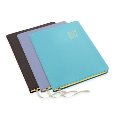 2015/2016 17-Month Weekly/Monthly Academic Planner in Turquoise