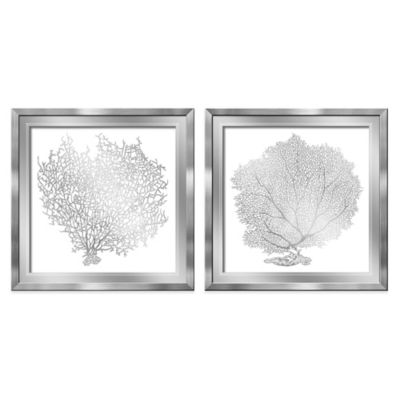 HeadWest Fan Coral Mirror Panels (Set of 2)