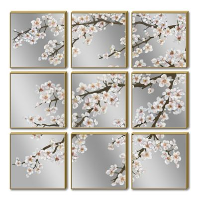 HeadWest Blossom Branch Wall Art (9-Piece)