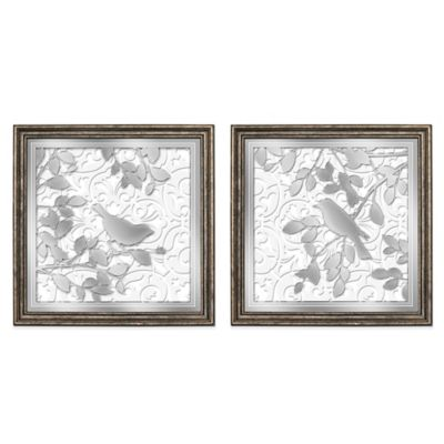HeadWest Sparrow Tile Wall Art (Set of 2)