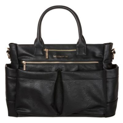 Honest Everything Tote Diaper Bag in Black