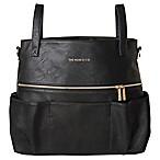 Honest Carryall Satchel Diaper Bag in Black