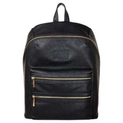 Honest City Backpack Diaper Bag in Black - from The Honest Company