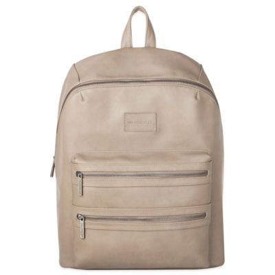 Honest City Backpack Diaper Bag in Elephant Grey