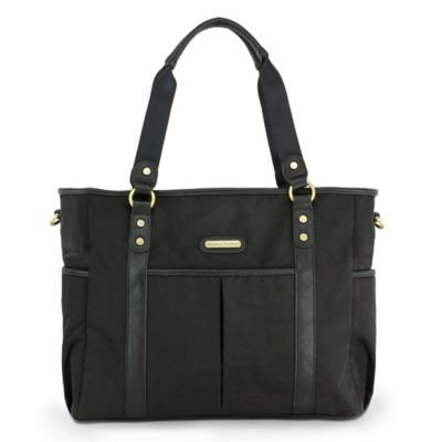 timi & leslie® Classic Tote Diaper Bag in Soho Black