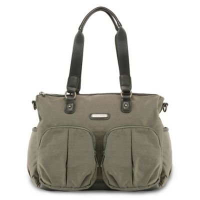 timi & leslie® Jet Setter Tote Diaper Bag in London Graphite
