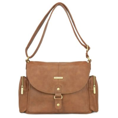 timi & leslie® Metro Messenger Diaper Bag in Barcelona Brown