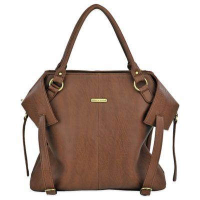 timi & leslie® Charlie 7-Piece Diaper Bag Set in Cinnamon
