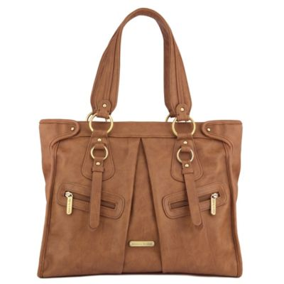 timi & leslie® Dawn 7-Piece Diaper Bag Set in Caramel