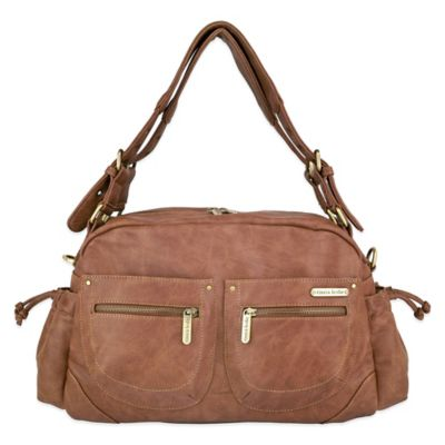 timi & leslie® Jessica 7-Piece Diaper Bag Set in Caramel