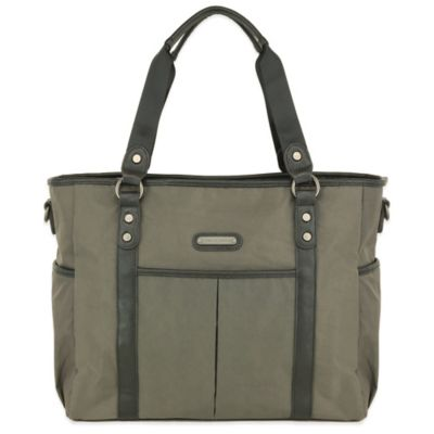 London Graphite Diaper Bags