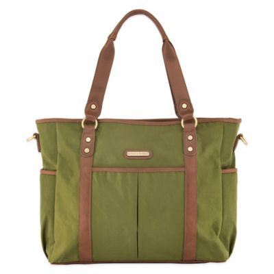 timi & leslie® Classic Tote Diaper Bag in Serengeti Green