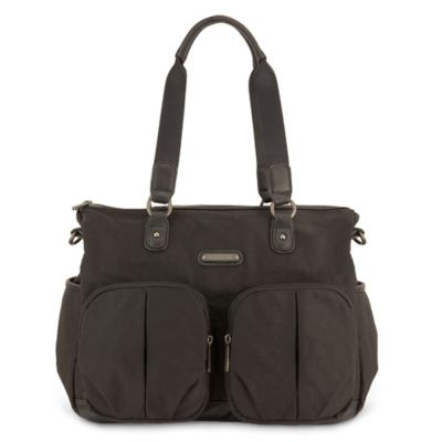 timi & leslie® Jet Setter Tote Diaper Bag in Soho Black