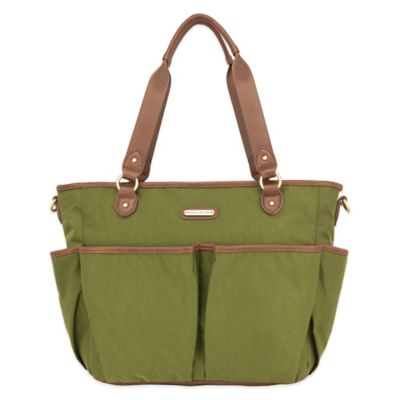 timi & leslie® Tag-A-Long Tote Diaper Bag in in Serengeti Green