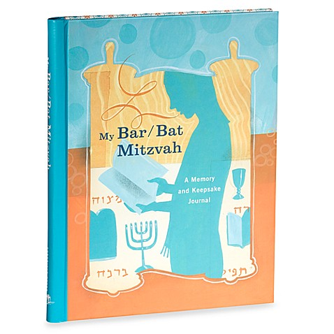 My Bar/Bat Mitzvah Memory Keepsake and Journal