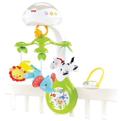 Fisher-Price® 3-in-1 Rainforest Friends Deluxe Projection Mobile
