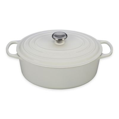 Le Creuset® Signature 6.75 qt. Oval French Oven in White