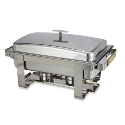 Dallas 8 qt. Heavyweight Chafer in Silver/Gold